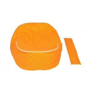 Relaxačný vak LIENKA oranžová 100% bavlna 3