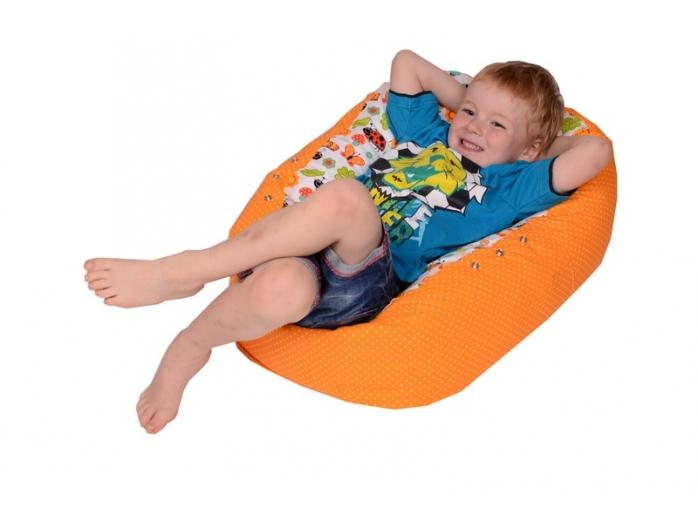 Relaxačný vak LIENKA oranžová 100% bavlna 4