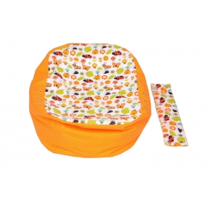 Relaxačný vak LIENKA oranžová 100% bavlna 1