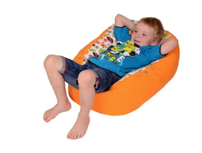 Relaxačný vak LIENKA oranžová 100% bavlna 5