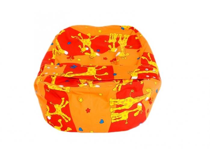 Relaxačný vankúš ŽIRAFA oranžová  2