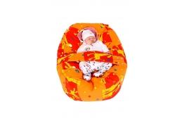 Relaxačný vankúš ŽIRAFA oranžová