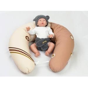 Dojčiace vankúš Maxi KOLA HNĚDÁ 100% bavlna 2