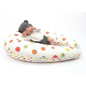 Dojčiaci vankúš Maxi LÚKA ORANŽOVÁ 100% bavlna