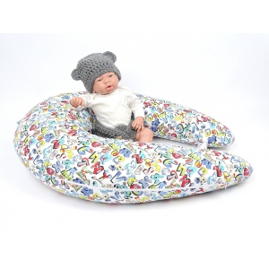 Dojčiaci vankúš Maxi GRAFITTI 100% bavlna 3