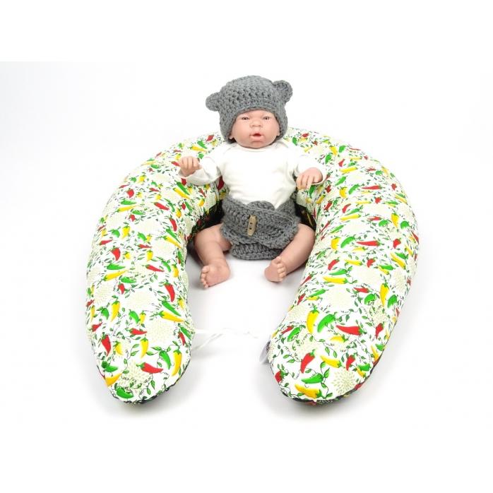 Dojčiaci vankúš Maxi PAPRIČKY 100% bavlna 4