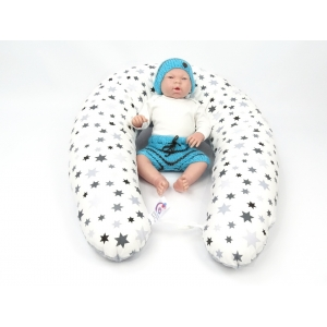 Dojčiace vankúš Maxi STARS 100% bavlna 3