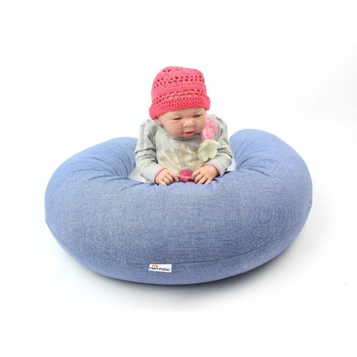 Vankúš na dojčenie Maxi DENIM 100% bavlna 2