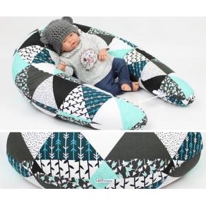 Dojčiaci vankúš Maxi MAMINČIN SEN 100% bavlna 205cm