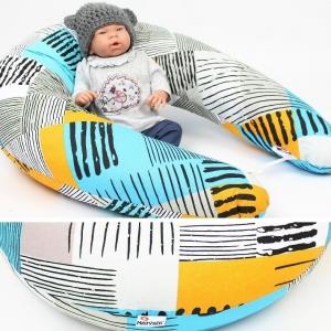 Dojčiaci vankúš Maxi SUNNY 100% bavlna 205cm