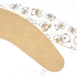 Poťah MACKO HNĚDÝ 100% bavlna (veľkosť štandard)