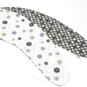 Poťah LÚKA ŠEDÁ 100% bavlna (veľkosť štandard)